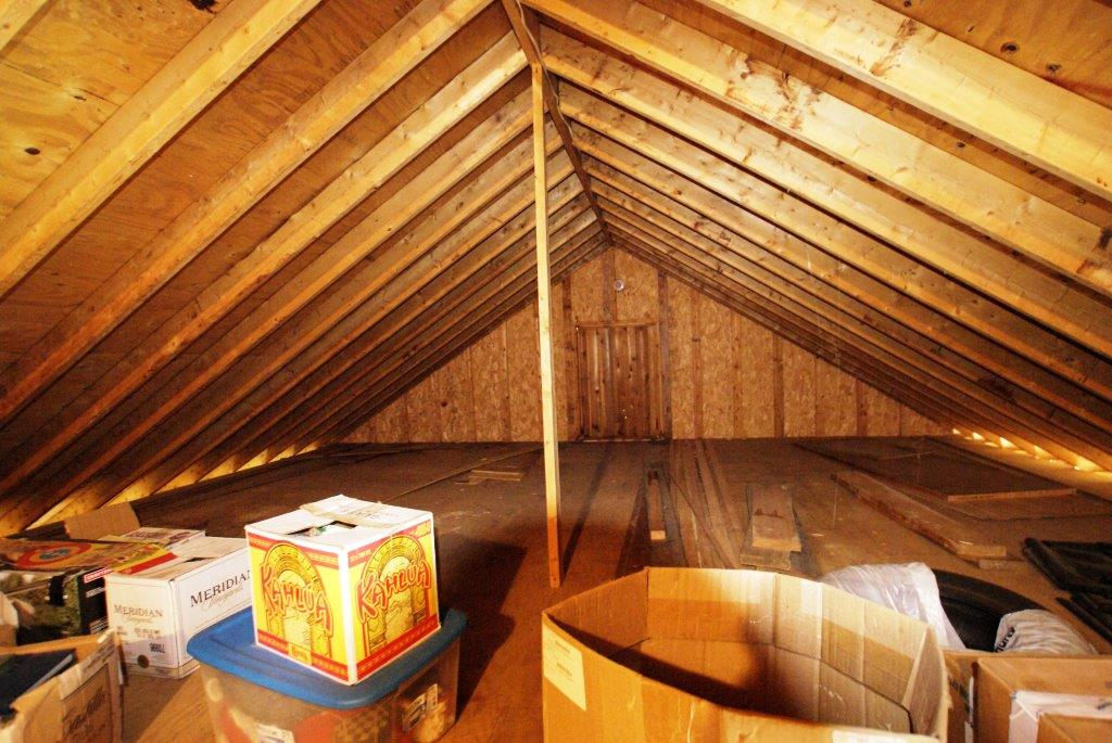 Attic from DC Realty