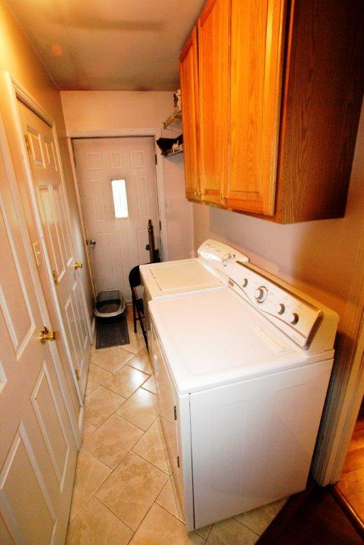 The Laundry area in your new Secluded and Private Home from DC Realty