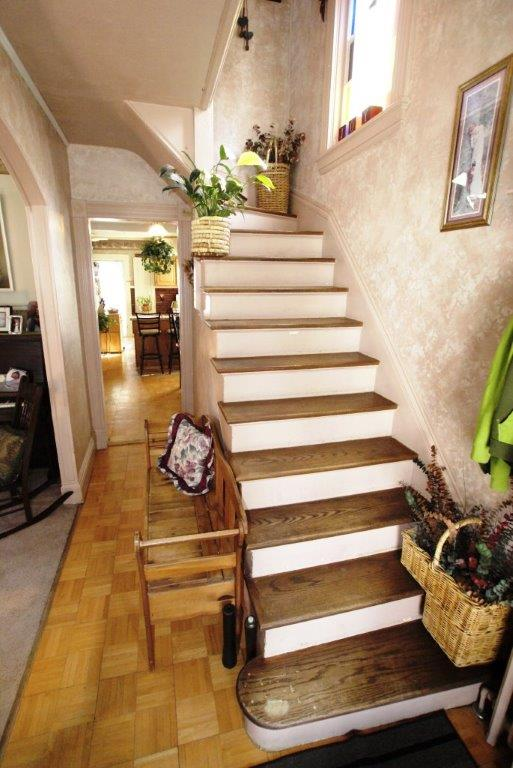 Your Village Victorian Stairway from DC Realty
